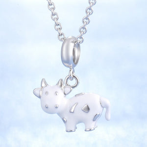 Women's Jewelry | White Cow Necklace