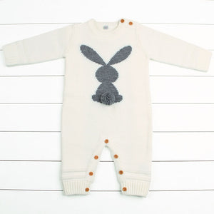 3-24mo | Romper | Bunny and Buttons