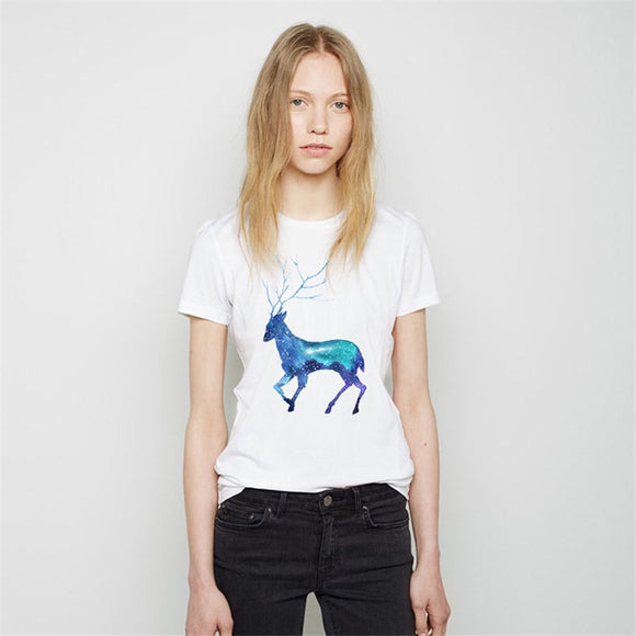 Women's T-Shirt | Watercolor Deer