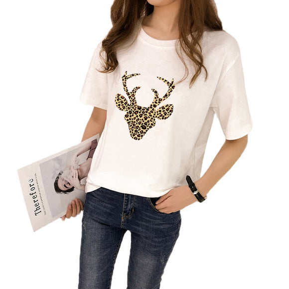 Women's T-Shirt | Leopard Deer