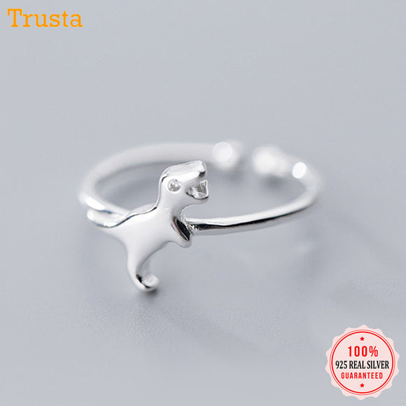 Women's Jewelry | Sterling Dinosaur Ring