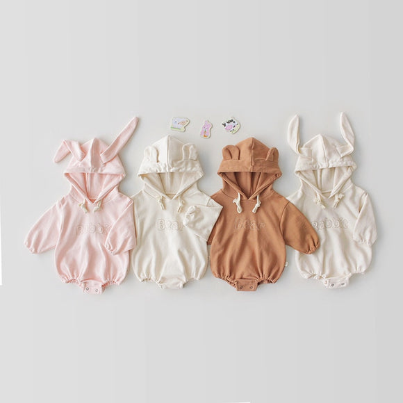 3-24mo | Romper | Shorty Bunny or Bear Suit