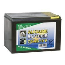 Alkaline Dry Battery - 75 Ah 9V