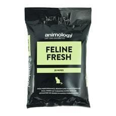 Animology Feline Fresh Cat Wipes - 20 Pack