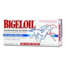 Bigeloil Quilted Poultice Leg Wrap - 8 Pack
