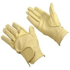 Bitz Flex Leather Gloves Adult - Xsmall / Beige