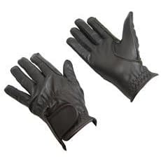 Bitz Leather Gloves Adult - Xsmall / Brown