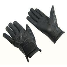 Bitz Leather Gloves Child - Small / Black