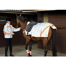 Equisafety Mercury Exercise Rug - Pony / Orange