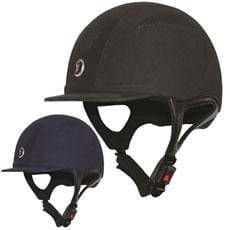 Gatehouse Challenger Riding Hat Suede - Xsmall (53-54Cm) / Black