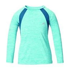 Harry Hall Ss18 Tex Base Layer Sandsend Uv Junior - Age 3-4 / Turquoise