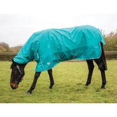 Jhl Essential Turnout Rug Lightweight Extra Combo - 5 6 / Turquoise