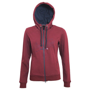 Mark Todd Hoodie Jana Ladies - Xsmall / Burgundy