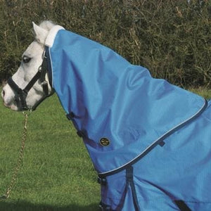 Mark Todd Pony Turnout Rug Lightweight Neck Cover - One Size / Ocean