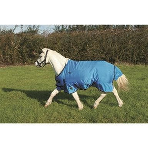 Mark Todd Pony Turnout Rug Mediumweight - 4 3 / Ocean