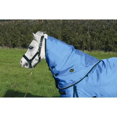 Mark Todd Pony Turnout Rug Mediumweight Neck Cover - One Size / Ocean
