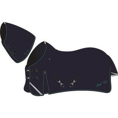 Mark Todd Turnout Rug Heavyweight With Medium Neck - 5 6 / Navy/jade