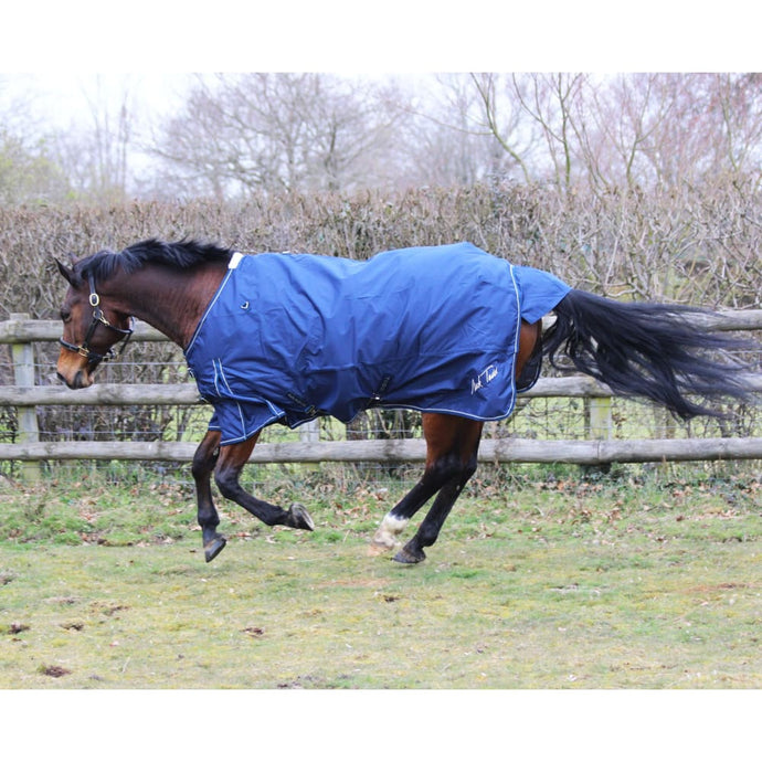 Mark Todd Turnout Rug Lightweight - 5 6 / Navy