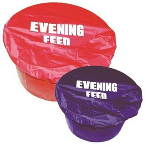 Stablekit Bucket Cover Nylon Evening Feed - Royal