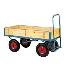 Stubbs Four Wheel Removable Sided Trolley S2109D - Trolley