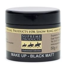 Supreme Professional Matt Make-Up - 50 Gm / Black