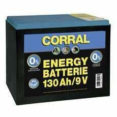 Zinc-Carbon 130 Ah Dry Battery - 9V