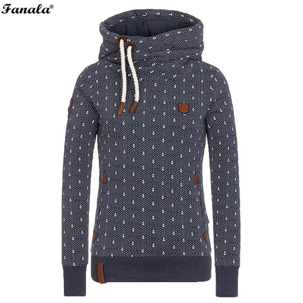 Winter Autumn Women Hoodies Female Warm Hooded Sweatshirt Long Sleeve Pockets Casual Loose Pullovers Plus Size Top 2018