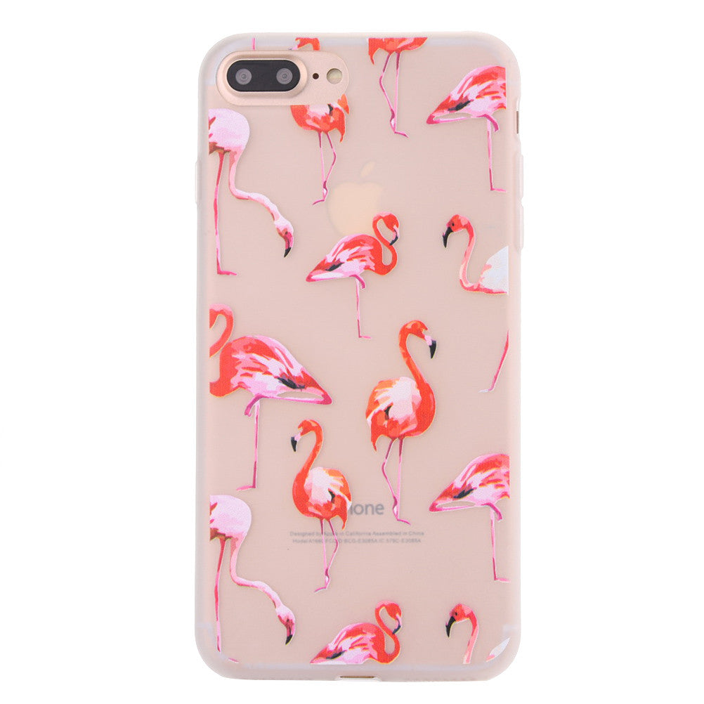Fashion Flamingo Matte Soft Ultrathin TPU Case Phone Case Shell for iPhone 7 Plus - Culture Regulation LLC