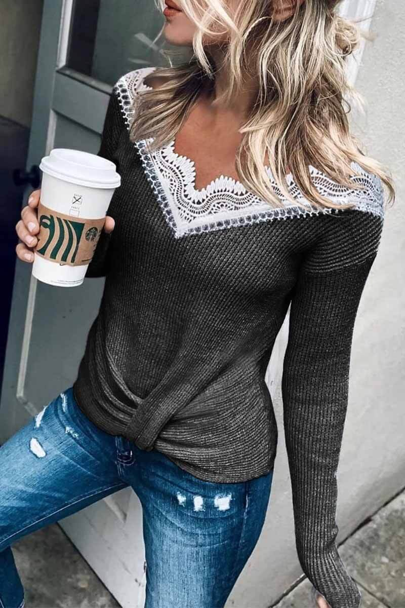 Loose Crewneck Jumper Sweater