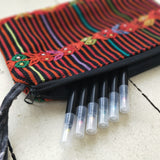 Handwoven Pencil Case with Zip
