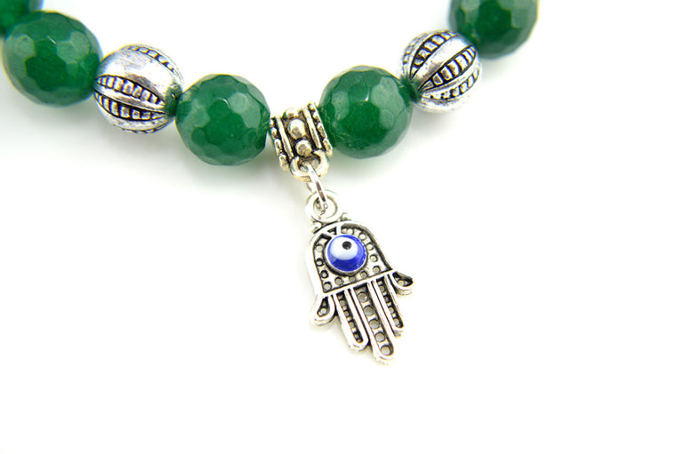 Hamsa and Evil Eye Stretchy Bracelets