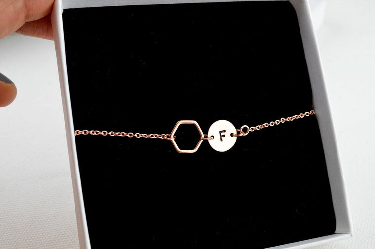 Geometric Personalised Bracelet