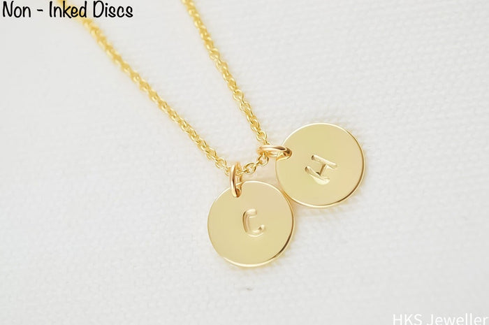 Name Initial Gold Necklace