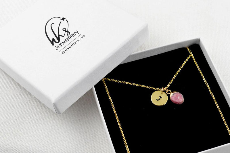 Natural Rhodonite Necklace
