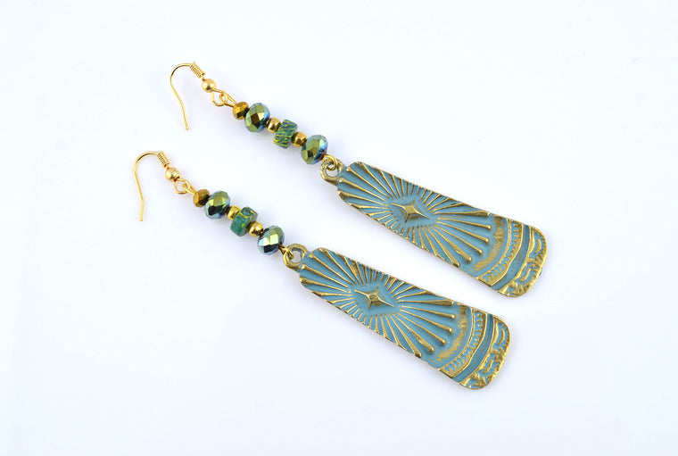 Istanbul Patina Earrings