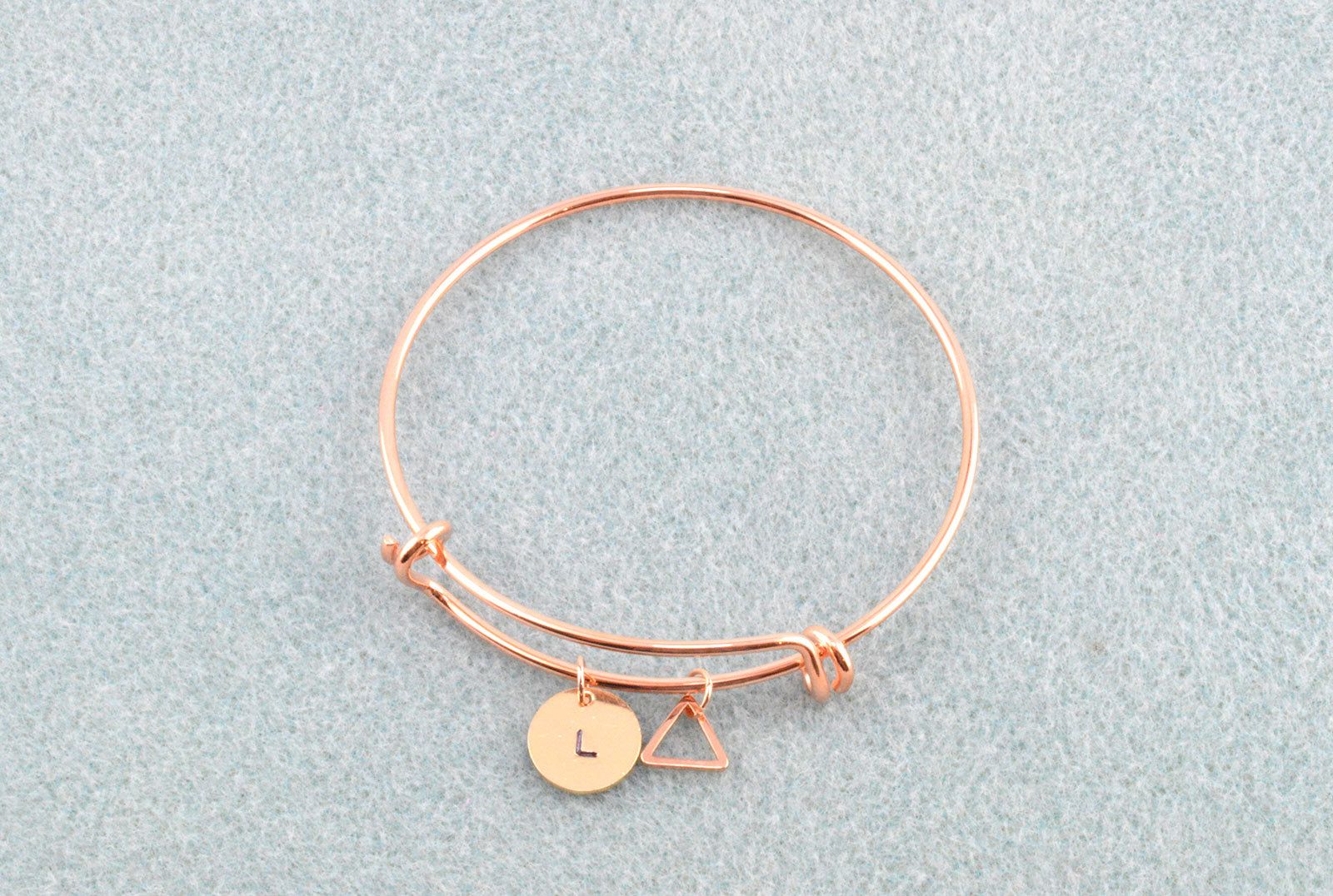 plated stainless bangles bangle dp amazon rose steel jewelry diy com beads fit keys gold bracelet starter charm three