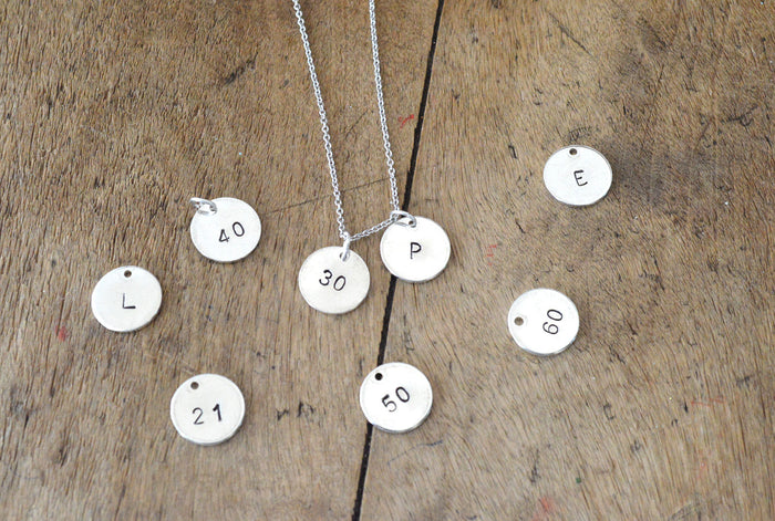 Special Birthday Gift - Silver Plated Personalised Necklace