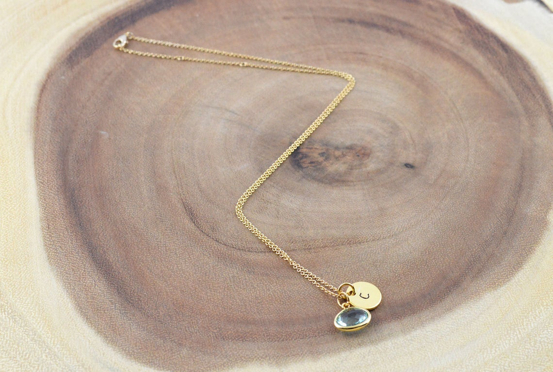 Name Initial Necklace