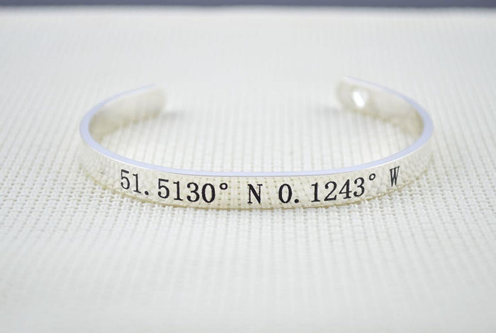 Co-ordinates Bracelet