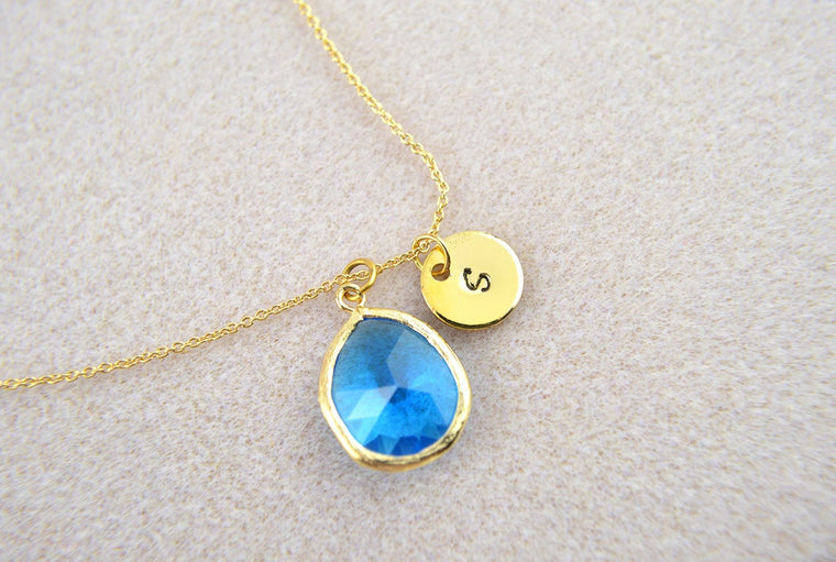 Personalised Sapphire Necklace