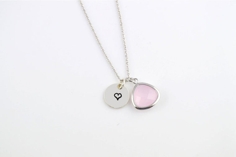 Ice Pink Necklace