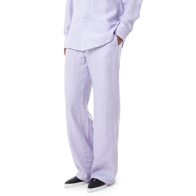 Hydra linen trousers