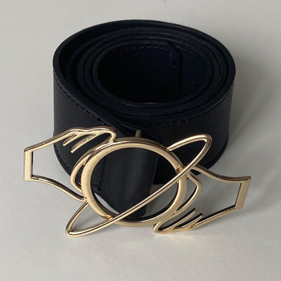 Øra Buckle Leather Belt