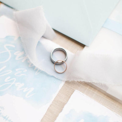 Do The Bride And Groom's Wedding Bands Have To Match?
