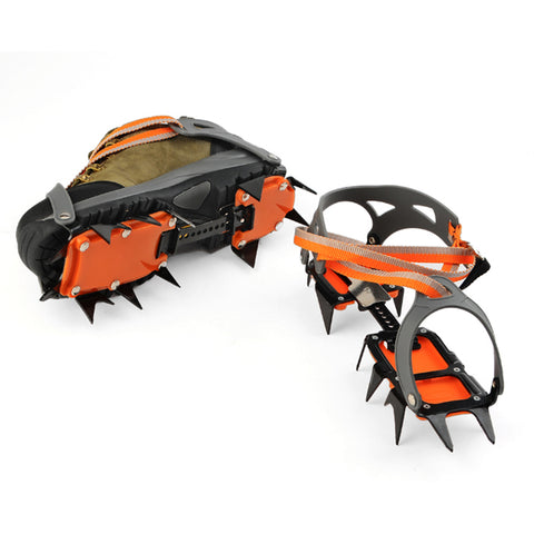 Professional 14-point Manganese Steel Ice Crampons