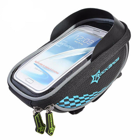 Waterproof Bike Frame Storage & Smartphone Holder For GPS Maps