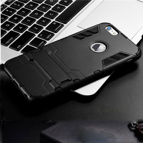 Heavy Duty Armor ShockProof TPU iPhone Case 5 5s 6 6s 7