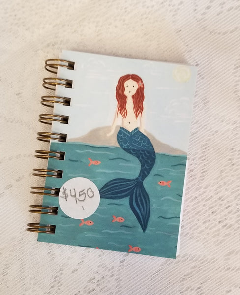 Mermaid Mini Notebook