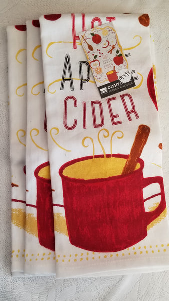 Apple Cider Tea Towel