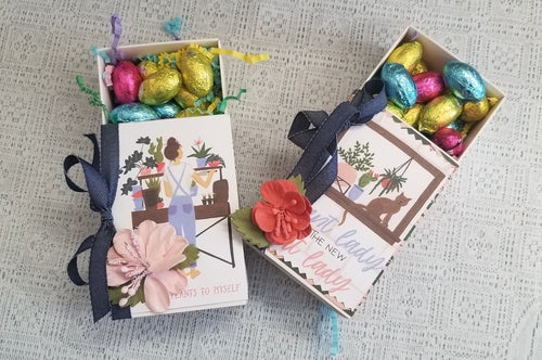 Plant Themed Chocolate Egg Match Box
